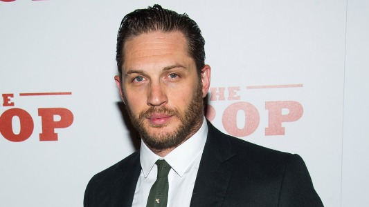 "Tom Hardy attends ""The Drop"" premiere on Monday, Sept. 8, 2014 in New York. (Photo by Charles Sykes/Invision/AP)"